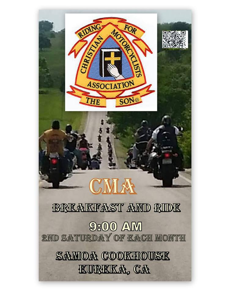 CMA Breakfast Ride- 2nd Saturdays 9am