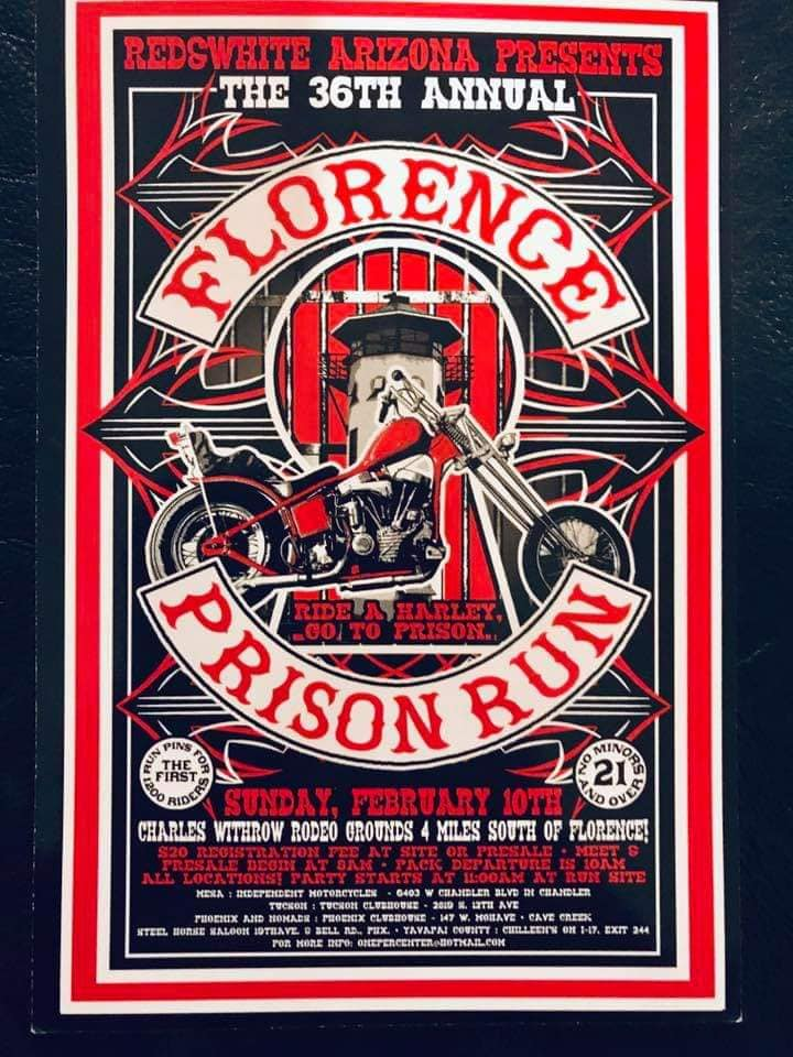 Florence AZ Prison Run Feb 10, 2019