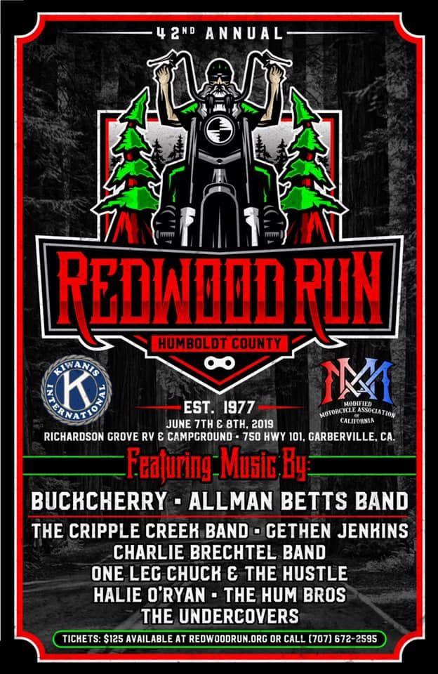 Redwood Run Jun 7-8, 2019
