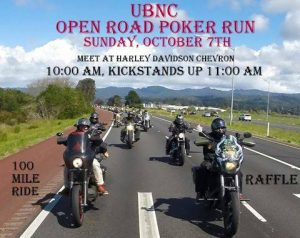 UBNC Open Road Poker Run 2018