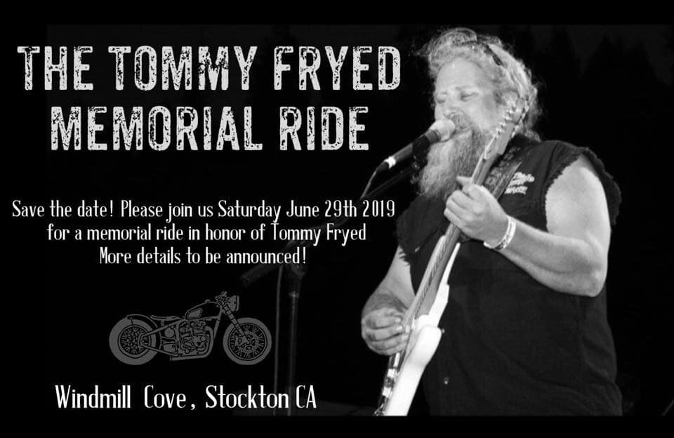 The Tommy Fryed Memorial Ride 2019